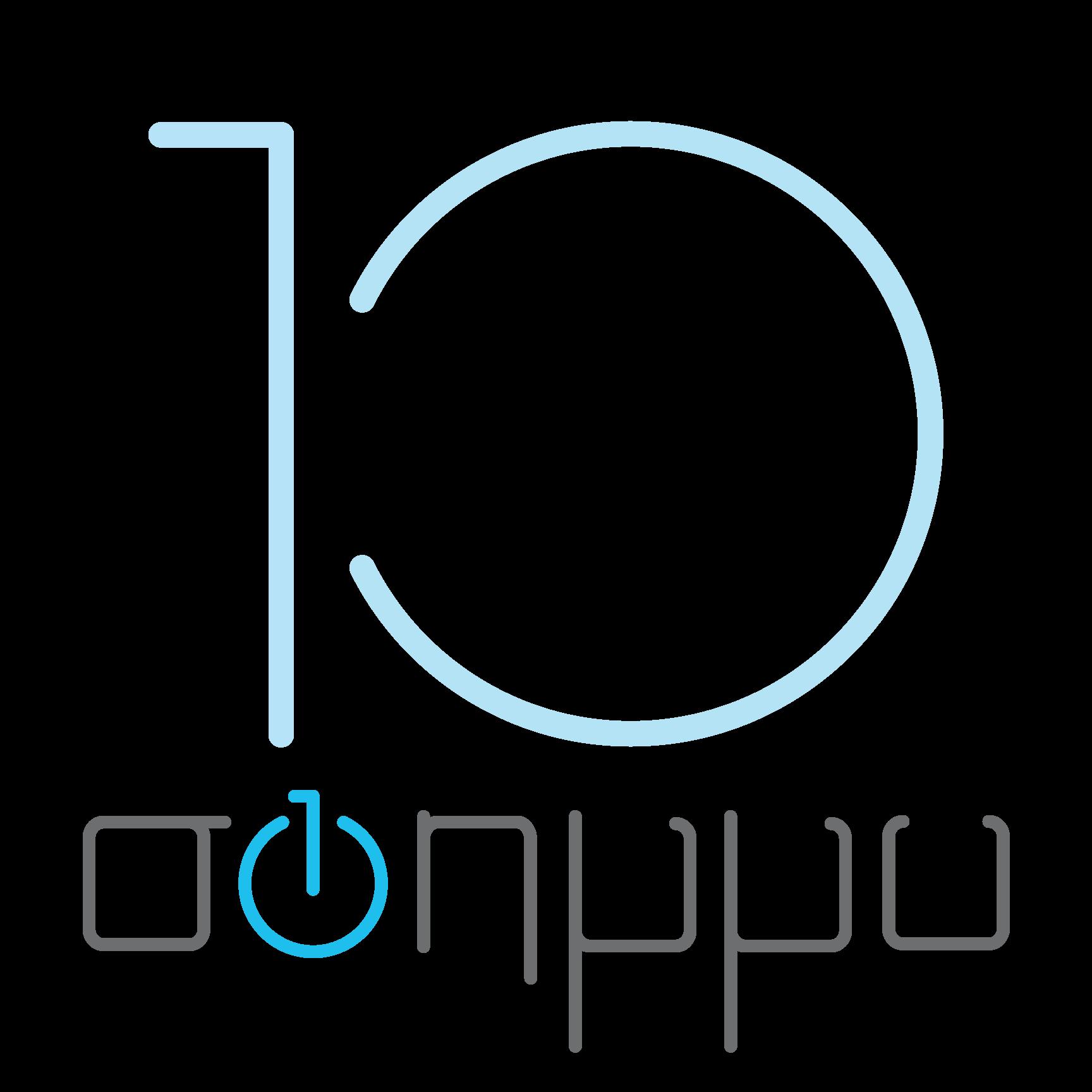 Λογότυπο ΣΦΗΜΜΥ 10